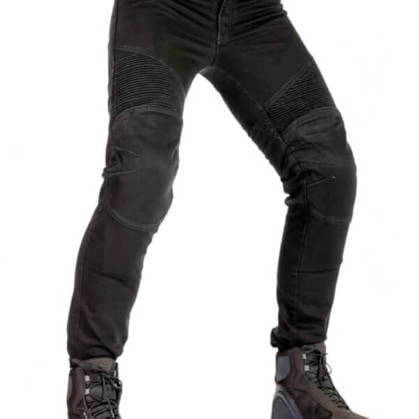 Jeansy motocyklowe męskie 115moto Black