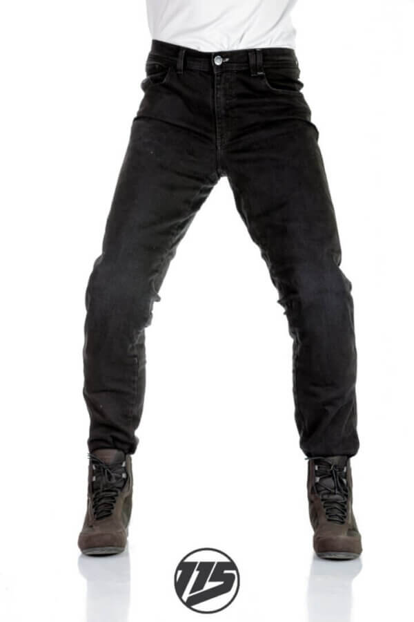 Jeansy motocyklowe męskie 115moto American Black