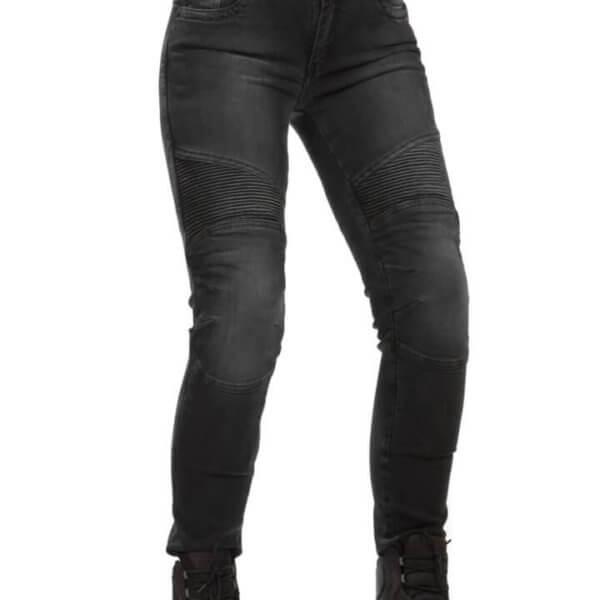 Jeansy motocyklowe damskie 115moto Lady Black