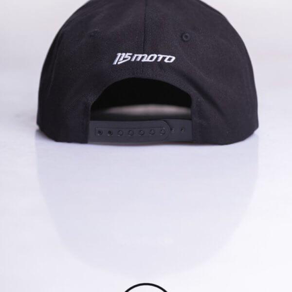 Czapka 115 Moto Black