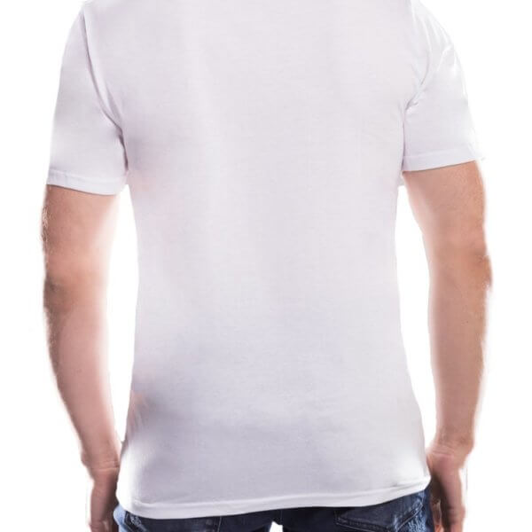 T-shirt męski 115moto White kolekcja DAKAR