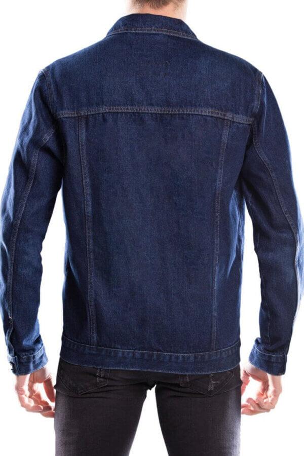 Kurtka jeans męska 115moto Blue
