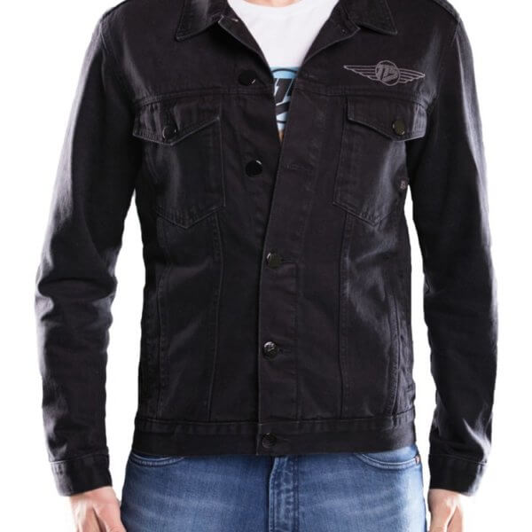 Kurtka jeans męska 115moto Black